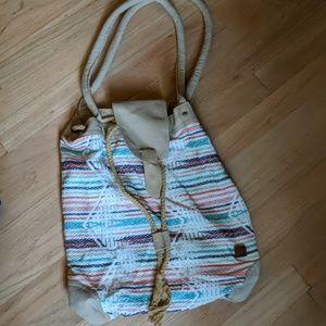 Roxy purse, boho beachy style